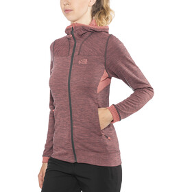 Millet Lokka Jacket Women tarmac/peach